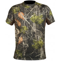 Tričko CREW-S Camo forest -...