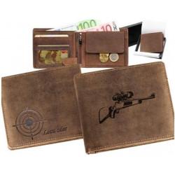 Kožená peňaženka Lovu zdar...