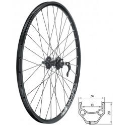 Zapletené koleso predné...