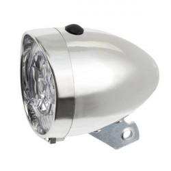 Svetlo predné 3 LED chrómové