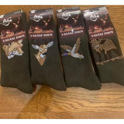 Zimné hrubé ponožky s...