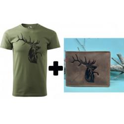 Pánske poľovnícke tričko +...