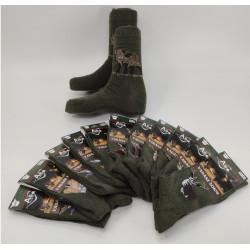 Ponožky s poľovníckym motívom