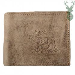 Kožená peňaženka - jeleň