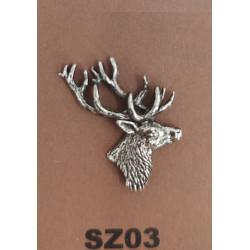 Odznak SZ03 Jeleň